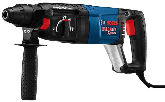 #3. Bosch 11255VSR 8 Amp 1inch Corded SDS-Plus Variable Speed Bulldog Xtreme Rotary Hammer