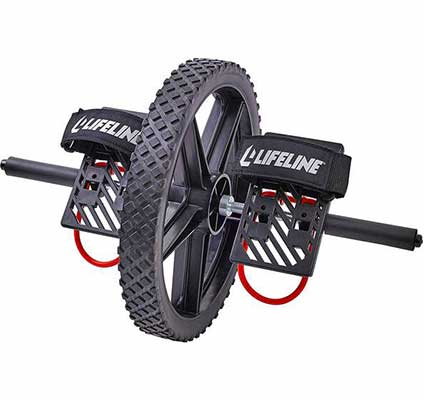 1. Lifeline Power Wheel for Full Body Exercise