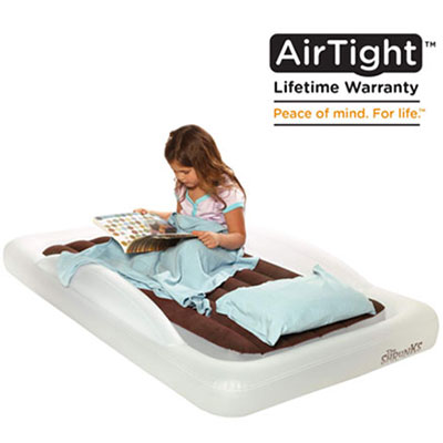 2. The shrunks toddler travel bed portable inflatable mattress