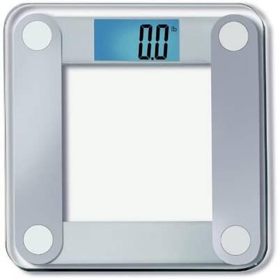 #9. EatSmart Large Lighted Display One Size Free Body Tape Measure Digital Bathroom Scale