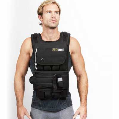 2. ZFOsport Water Bottle Holder 16 Oz One-Size Fit Most 30lbs – 80lbs Weighted Vest