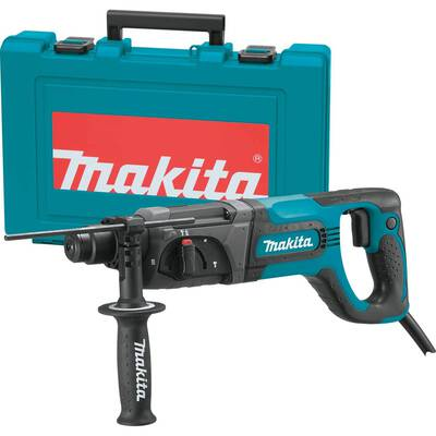 #4. Makita D Handle HR2474 1inch Accepts SDS-Plus Bits 7.0 Amp 3 Mode Rotary Hammer Drill