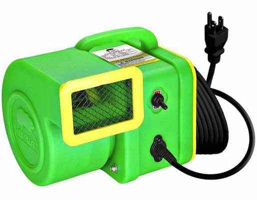 #7. B-Air Powerful ETL-Approved ¼ HP Quiet Operation Motor 375 CFM Pet Hair Dryer Airmover