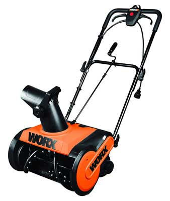 5. WORX WG650 18 inch Electric Snow Thrower - 13 Amp
