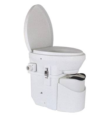 #1. Nature's Head Self-Contained Toilet with Handle Design