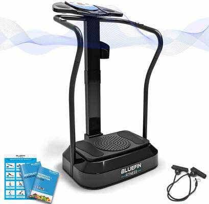 #9. Bluefin Fitness Vibration Platform, Pro Model, Upgraded Design