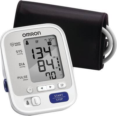 #1. Omron 5 Series Upper Arm Soft 2 User 100-Reading Memory Blood Pressure Machine