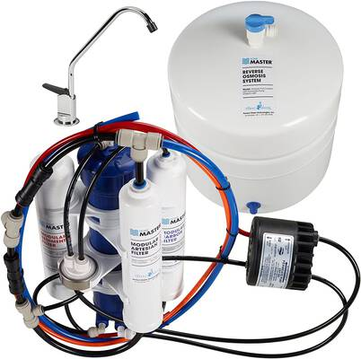 #2. Home Master TMAFC-ERP Undersink Reverse Osmosis Artesian Full Contact Water Filter System