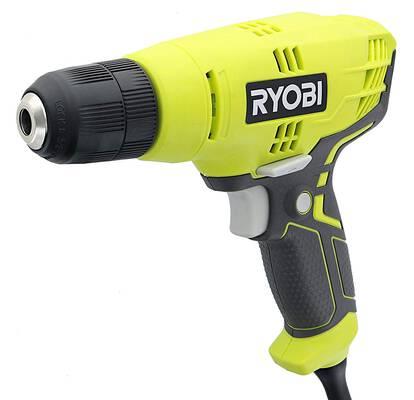 #8. Ryobi D43K 5.5 Amp Corded Power Drill