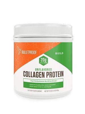 #2. Bulletproof Unflavored Keto-Friendly Paleo Grass-Fed 17.6oz Amino Acid Collagen Protein Powder