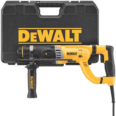 #1. DEWALT D25263K 1-1/8inch SDS-Plus D-Handle 8.5 Amp Integral Clutch Rotary Hammer Drill