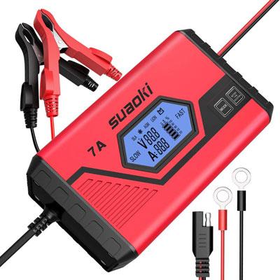 7. SUAOKI Smart Battery Charger (ICS7+)