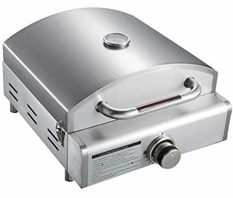#3. MONT ALPI 3-in-1 Pizza Oven