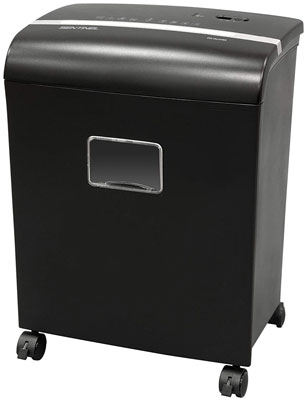 6. Sentinel FM121P Paper Shredder with a Waste Bin