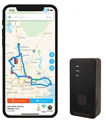 #10. Optimus 2.0 4G LTE Android & iPhone Compatible GPS Tracker for Vehicles People & Equipment