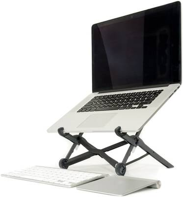 #4. Roost Portable Adjustable Laptop Stand for PC & MacBook w/Height of up to 12-inch