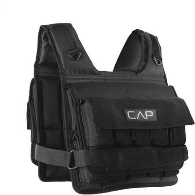 7. CAP Barbell Fully Adjustable Nylon & Polyester 20 – 150lbs Regular & Short Weighted Vest