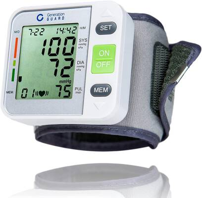 #7. Generation Guard Clinical Automatic FDA-Approved Portable Blood Pressure Monitor