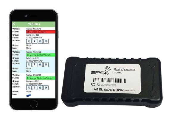 #1. GPS 1000BZL LTE Vehicle Tracking Device Real-Time GPS Tracker Fleet Tracking Elder Support