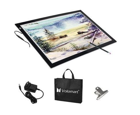 3. Voilamart LED Tracing Board, Dimmable Brightness