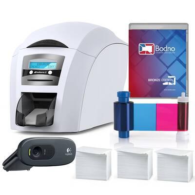 #4. Magicard Enduro 3e Complete Supplies ID card Printer