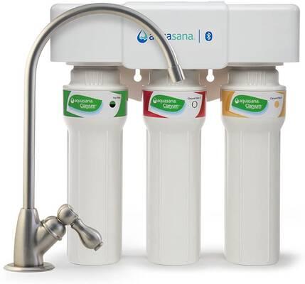 #8. Aquasana AQ-5300+.55 3-Stage Top-Grade Under Max Flow Sink Water Filtration System