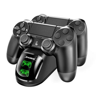 #8. DOBE Dual Shock 4 Controller with LED Light Indicators Compatible with PS4 Slim Pro Controller