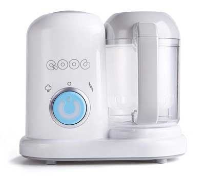 #6. Minne QOOC 4-in-1 Controllable Nutrients Safe & Standard Precision Mini Baby Food Maker