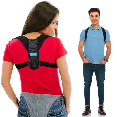 5. VIBO Care Posture Corrector Support Device for Men and Women