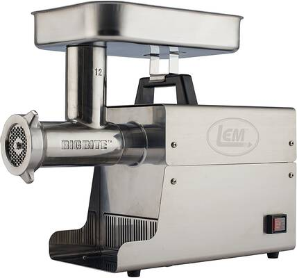 #2. LEM Products Stainless Steel Big Bite Meat Grinder