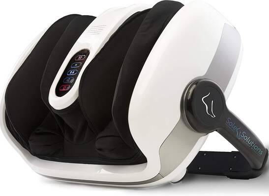 #1. Cloud Massage Heat Deep Kneading w/Heat Therapy Shiatsu Foot Massager Machine