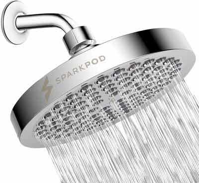 3. SparkPod Shower Head - Tool-Free Installation