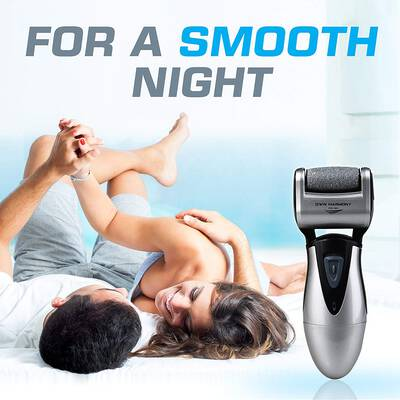 #3. Own Harmony 3 Powerful Rollers Professional Rechargeable Micro-Pedi Electric Foot Callus Remover