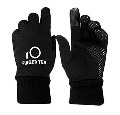 #8. Finger Ten Junior 3M Warm Touchscreen Boys Girls Winter Gloves (1 pair set)