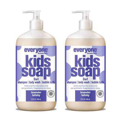 #8. Everyone 3-in-1 Soap, Gentle & Natural Shampoo (Pack of 2)