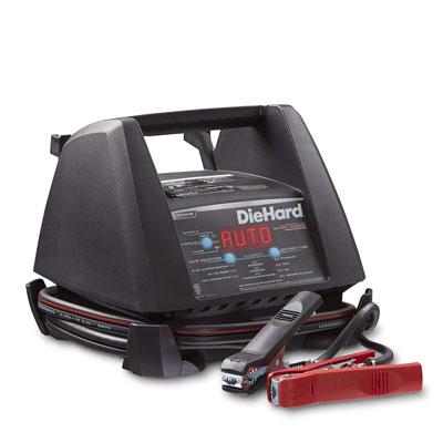 9. DieHard 71328 Platinum Shelf Battery Charger
