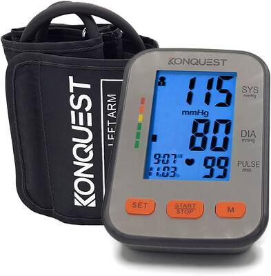 #10. KONQUEST KBP-2704A FDA-Approved Automatic Upper Arm Blood Pressure Monitor