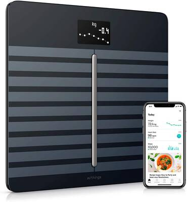 #1. Withings/Nokia Body Cardio Body Composition Digital Wi-Fi Scale with Smartphone App