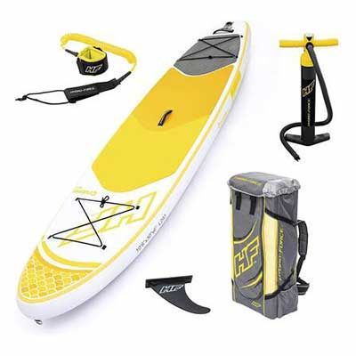 #9. Bestway Non-Slip Traction Pad Hydro-Force Oceana Inflatable Stand Up Paddle Board