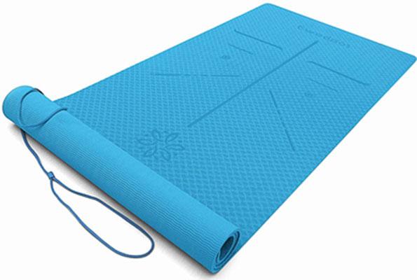 2. Ewedoos Eco-Friendly TPE High-Density Padding Yoga Mat