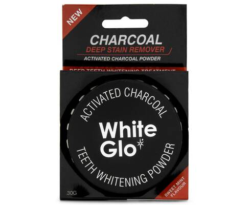 6. White Glo Fresh Mint Clean Deep Stains Highly Absorbent Teeth Whitening Charcoal Powder