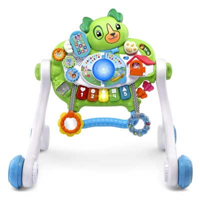 #10. LeapFrog Scouts Get Up and Go Baby Push Walker