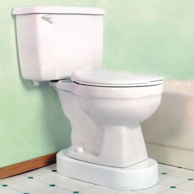 #10. Toilevator Toilet Riser, 500-lb Capacity