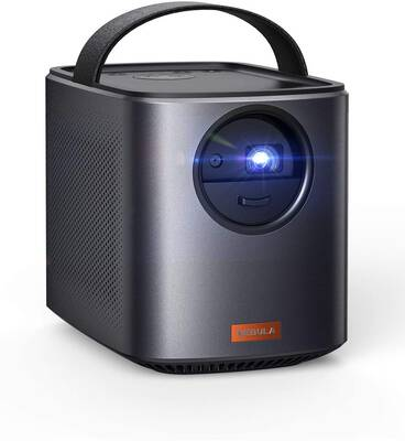 #2. Anker Mars II 300 ANSI 10W Speakers Android 7.1 150Inch DLP Picture Home Portable Projector