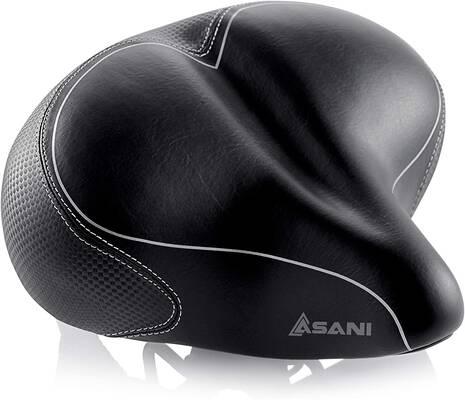 #9. Asani Oversized Comfort Bike Seat Replacement Bicycle Saddle