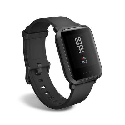 #6. Amazfit Bip Long Battery Life Bluetooth Smart Watch GPS Fitness Tracker by Huami (A1608 Black)