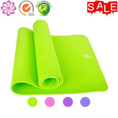 10. Gesar Eco-Friendly Non-Slip Premium Yoga Mat with Optimal Cushioning