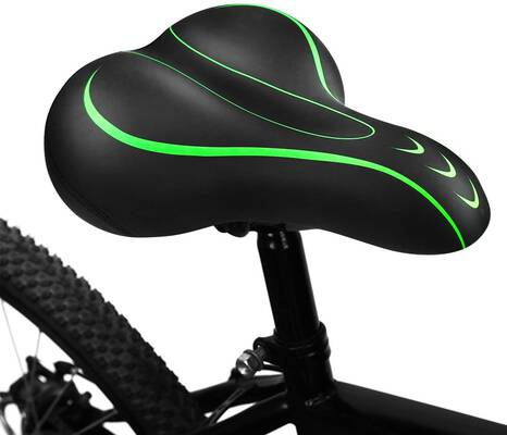 #6. BLUEWIND Bike Seat, Most Comfortable Bicycle Seat Memory Foam Saddle