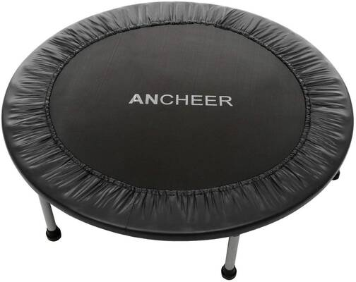 #4. ARCHEER Max Load 220lbs Mini Fitness Rebounder Trampoline for Adults & Kids (2 Sizes: 38''/40'')