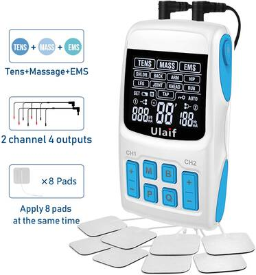 #2. Ulaif 3 in 1 Electronic Pulse Massager, FDA cleared